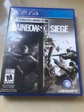 Rainbow Six Siege Juego Ps4 Físico