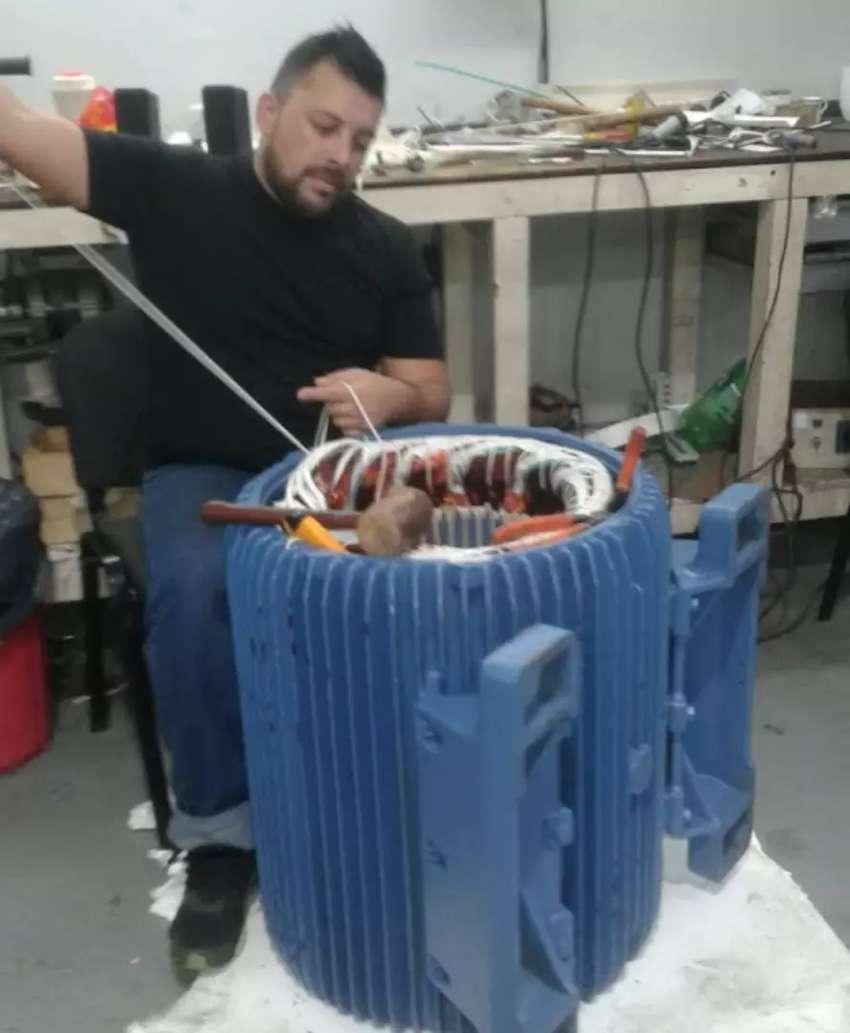 Bobinado de  Motores Y Bombas de Agua 0
