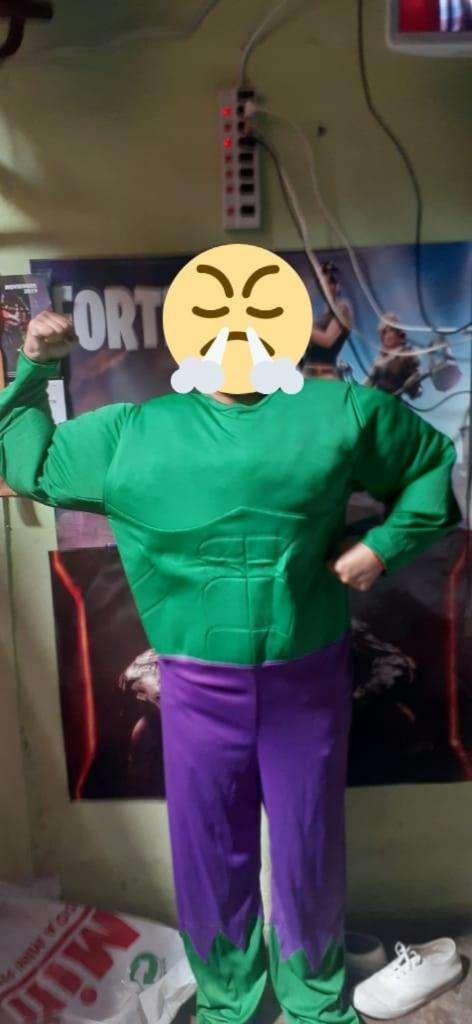Disfraz de Hulk 0