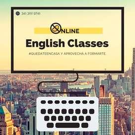 Clases particulares y personalizadas de inglés (¡también Online!)