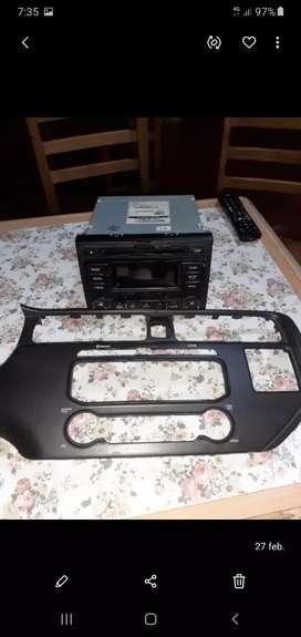 Autoradio original kia rio con mascara y conectores