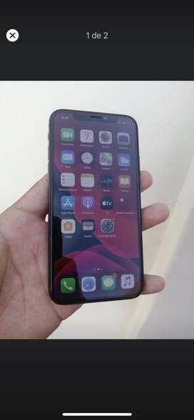 Iphone x 9.8 de 10 SOLO CLARO NEGOCIABLE