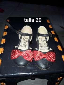 Zapato de Niña Talla 20
