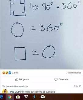 Se da clases de matemáticas para primaria