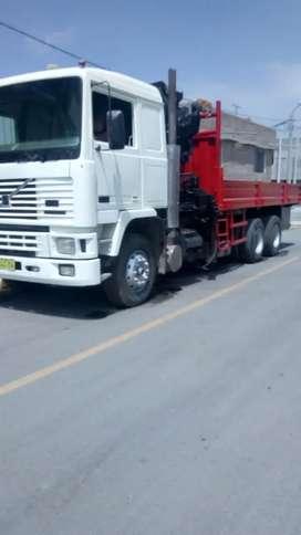 Camion grua volvo F10