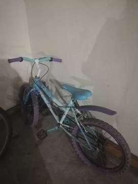 Bicicleta goliat frozen