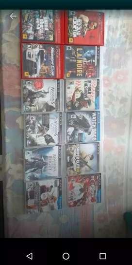 Vendo juegos originales para play 3