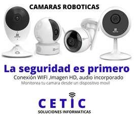 Cámaras robóticas