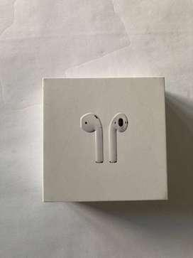 Apple AirPods Con Estuche De Carga - Blanco (2da Generación)