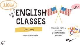 Clases Particulares De Inglés Virtuales