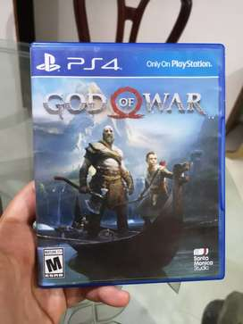 Juego de play station 4 Original god of war