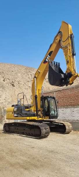 Excavadora Caterpillar Importacion 329DL