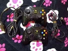 Controles originales de Xbox clásico