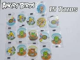 TAPS DE COLECCIÓN NUEVOS DE ANGRY BIRDS - 15