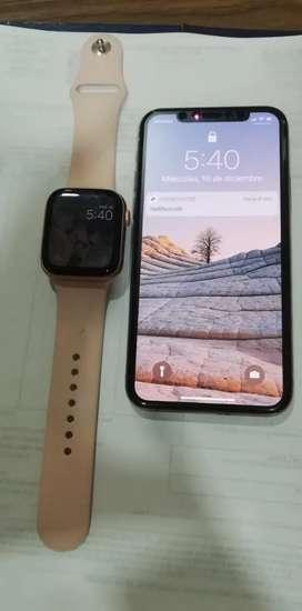 Se vende negociable iPhone 11 pro 64 gb 100 de 100