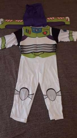 Disfraz Buzz Lightyear con alas, usado buen estado