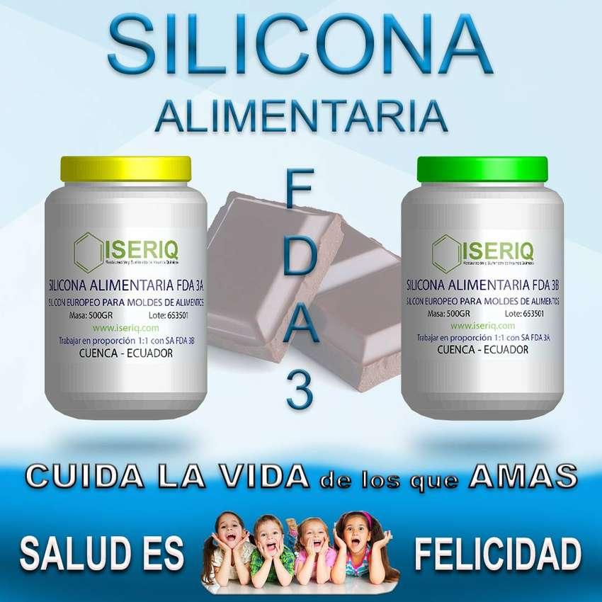 SILICONA PARA MOLDES DE ALIMENTOS