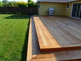 Instalación de Decks  en madera