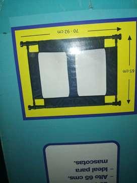 Puerta de seguridad flexible