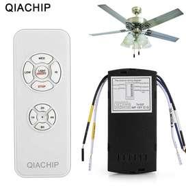 Kit Control Remoto Ventilador de Techo Con o Sin Lámpara