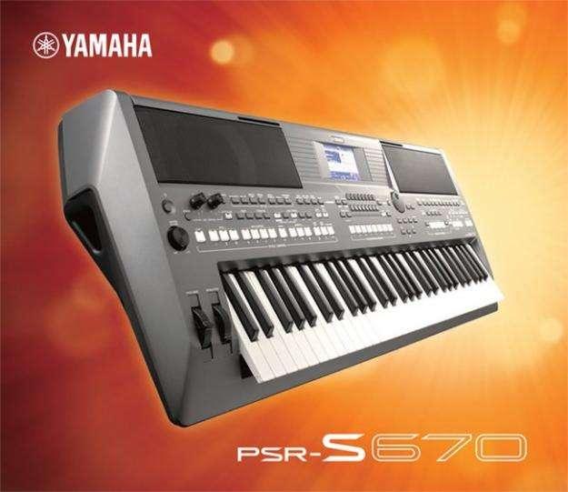 TECLADO ORGANO ELECTRONIC PIANO YAMAHA PSR S670 USB NUEVO. 0
