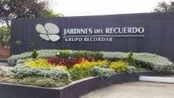 LOTE TRIPLE JARDINES DEL RECUERDO,  ADECUACION , SERVICIOS, OSARIOS