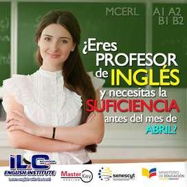 SUFICIENCIA de Inglés para DOCENTES