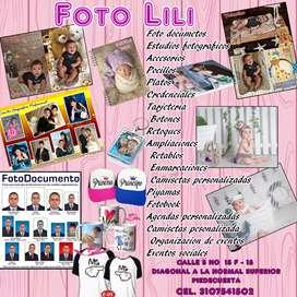 FOTOGRAFIA PROFESIONAL, ESTUDIOS FOTOGRAFICOS, ORGANIZACION DE EVENTOS Y YODO LO RELACIONADO CON EL RAMO.