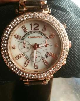 Reloj de Dama Mk A1 Color Oro Rosa