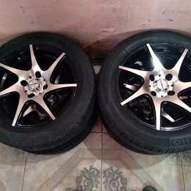 Vendo ruedas de auto n•4x108