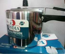 Olla a presion india 6 litros.