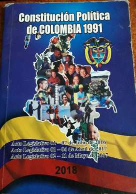 CONSTITUCION POLITICA DE COLOMBIA 1991.