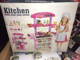 Cocina infantil de niñas muy completa