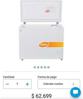 Freezer horizontal Gafa 277 Lts L290 Plus Blanco