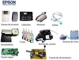 Impresoras Epson hp canon brother,repuestos,accesorios,reset