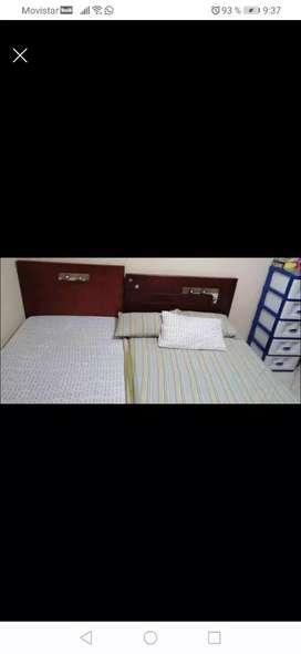 Se venden dos camas una semidobla y una sencilla