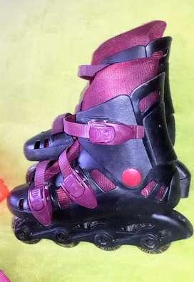 patines talla con kit