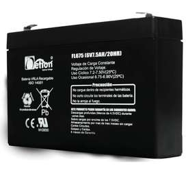 Bateria AGM 6V 7,5Ah Netion Sellada (seca)