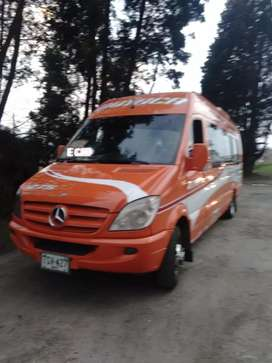 Microbús Mercedez Benz Sprinter 2015