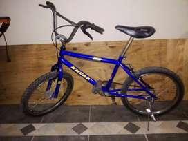 Bicileta azul