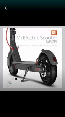 Scooter nueva de paquete