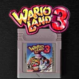 Juego WARIO LAND 3 Para Nintendo Game Boy Advance - SP - DS lite - Gameboy