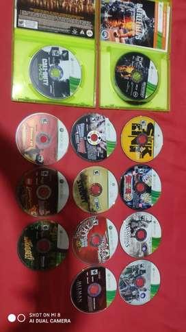 Remato todo los disco originales de Xbox360