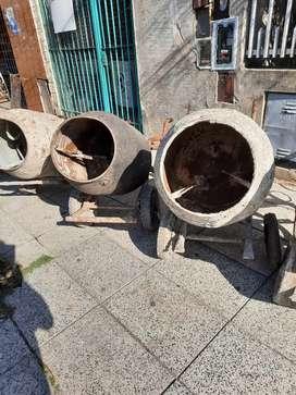 Trompos hormigoneros sin motor $ 4500 cada uno