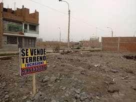 VENDO TERRENO OCASION URB SOL DE CARABAYLLO (140 MT) $40,000