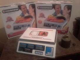 Balanza Electronica 40 Kg P.p.i 220 V y con Bateria Nueva