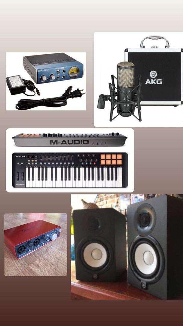 Equipos de musica profesional