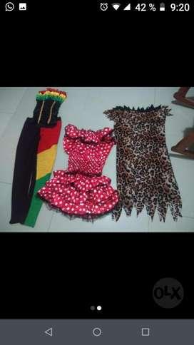 Vendo  3 Disfraces de Carnaval