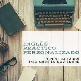 CLASES PRÁCTICAS-PERSONALIZADAS DE INGLÉS