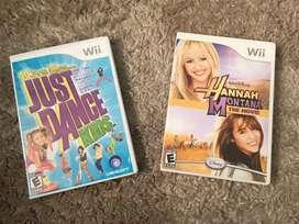 Vendo ambos para Wii
